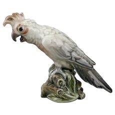 Dahl Jensen Cockatoo Bird Figurine #1316 Copenhagen Denmark