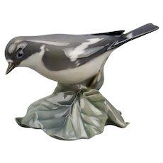 Royal Copenhagen Flycatcher Bird Figurine #2144 Copenhagen Denmark c.1954