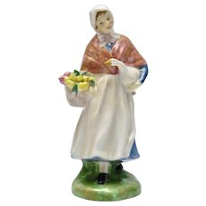 Royal Doulton Figurine Market Day England