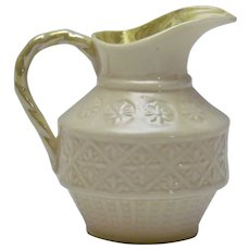 Belleek Ireland Creamer Cleary Pattern Third Green Mark