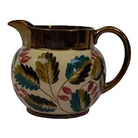 Wade England Pottery Harvest Ware Jug Pitcher Copper Luster