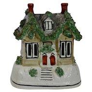 Staffordshire Pottery Pastille Burner Cottage House