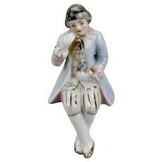 Occupied Japan Shelf Sitter Figurine Traditional French Court Gentleman's Costume