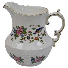 Pembroke Pattern Pitcher Aynsley Fine Bone China England