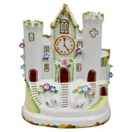 Coalport Cottage Series The Clock Tower Porcelain Fine Bone China England