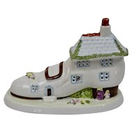 Coalport Cottage Series The Old Womans Shoe Fine Bone China England
