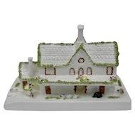 Coalport Cottage Series Country Railway Station Porcelain Fine Bone China England