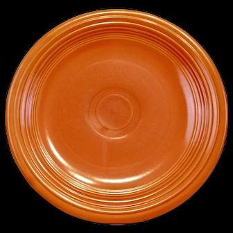 Fiesta Ware Plate Original Red Orange Color
