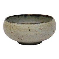 John Glick Plum Tree Pottery Glazed Bowl Signed