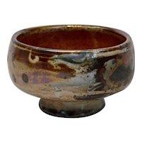 John Glick Plum Tree Pottery Bowl Signed