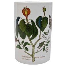 Portmeirion China Botanic Garden Utensil Canister Jar Hippomane Mancinella