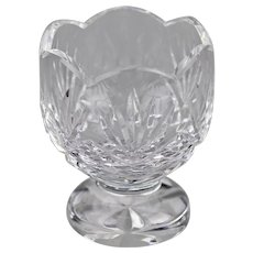 Waterford Crystal Urn Or Small Vase Hand Cut Irish Kincora Discontinued Pattern
