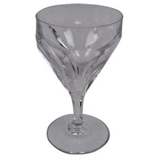 Baccarat Crystal Goblet Duchesse De Dino Pattern 6 Inches Tall