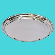 Arts And Crafts Randahl Shop Park Ridge Chicago Sterling Round Tray