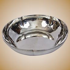 Arts And Crafts Kalo Shops Chicago And New York Hand Forged Bowl Sterling