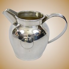 William Spratling Mexico Arts And Crafts Sterling Silver Pitcher Jug Modern