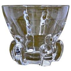Massive Steuben Glass Large Bowl