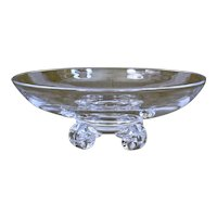Steuben Glass Low Footed Bowl