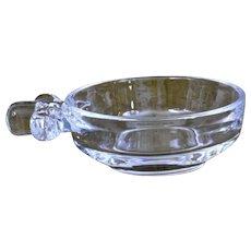 Steuben Crystal Glass Porringer Dish Mid Century Modern