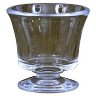 Steuben Glass Holder Urn Cup