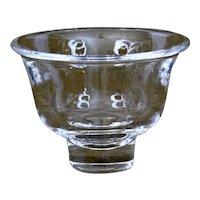 Steuben Glass Bell Shaped Bowl
