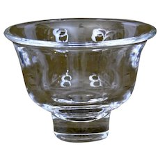 Steuben Glass Bell Shaped Bowl