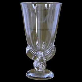 Steuben Glass Flower Vase