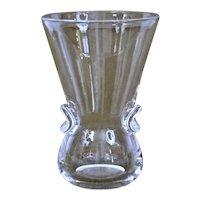 Steuben Glass Signet Vase