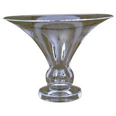 Steuben Glass Flared Vase