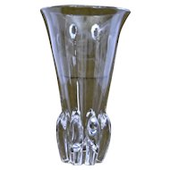 Steuben Glass Lotus Vase