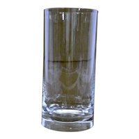 Steuben Glass Cylindrical Vase
