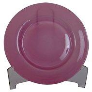 Steuben Rosaline Glass Plate Carder era