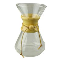 Chemex Glass Pour Over Coffeemaker Classic Modern Style