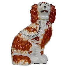 Staffordshire Pottery Dog