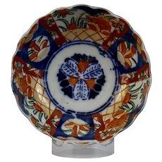 Japanese Imari Porcelain Bowl Scalloped Rim diminutive size
