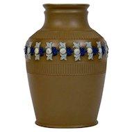 Doulton Lambeth Silicon Pottery Vase