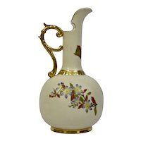 Royal Worcester Tall Neck Form Pitcher England