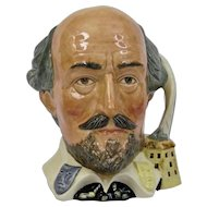 Royal Doulton Shakespeare Character Toby Jug Large