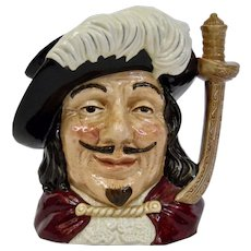 Royal Doulton Porthos Character Toby Jug Large