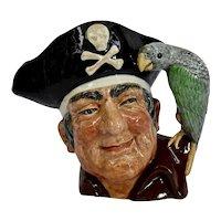 Royal Doulton Long John Silver Character Toby Jug Large