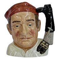Royal Doulton Boot Maker Character Toby Jug Williamsburg Series Large