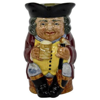 Royal Doulton Large Jolly Toby Character Toby Jug