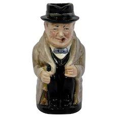 Royal Doulton Winston Churchill Character Toby Jug