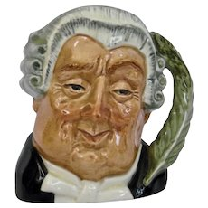 Royal Doulton The Lawyer Character Toby Jug
