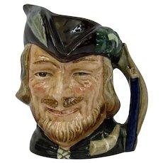 Royal Doulton Robin Hood Character Toby Jug