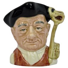 Royal Doulton Williamsburg Series Gaoler Character Toby Jug Small Size