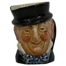Royal Doulton Mr Micawber Character Toby Jug Small Size Large A Mark