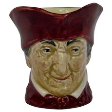 Royal Doulton The Cardinal Character Toby Jug Small Size Large A Mark