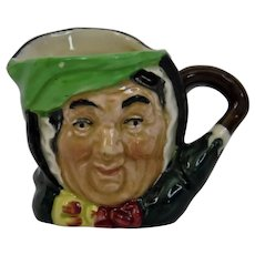 Royal Doulton Sairey Gamp Character Toby Jug Small Size Large A Mark