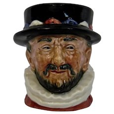 Royal Doulton Beefeater Character Toby Jug Small Size Large A Mark